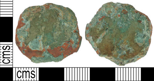 SUSS-6A7B02: Roman coin: Sestertius possibly of Faustina I