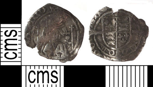 SUSS-772FA1: Medieval coin: penny of Henry VII