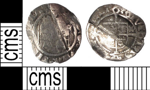 SUSS-7785D1: Medieval coin: penny of Henry VII