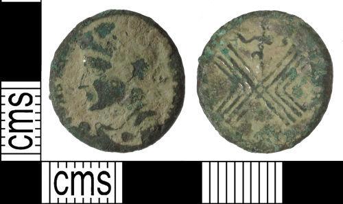SUSS-899073: Roman coin: nummus of Constantine I