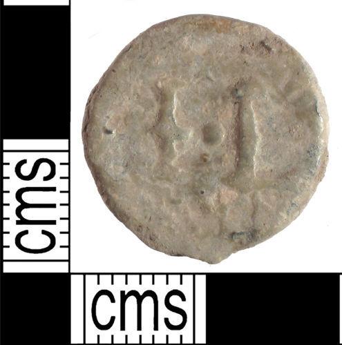 SUSS-932D53: Post Medieval lead token