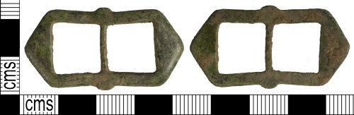 SUSS-9F8323: Post Medieval buckle frame