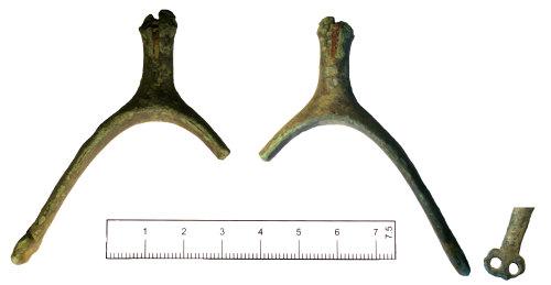 SUSS-EF66E6: Post medieval rowel spur