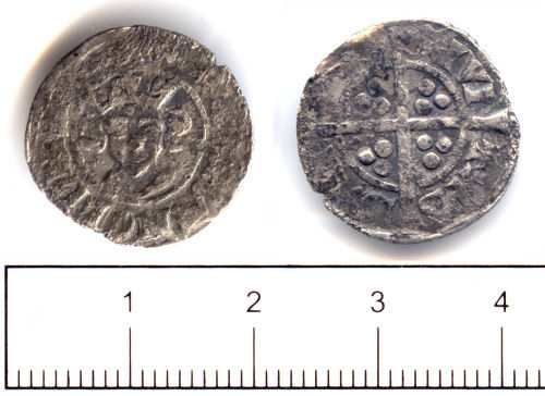 SUSS-F03085: Medieval coin: penny of Edward I