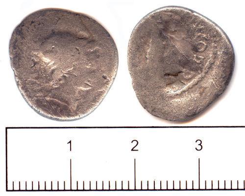SUSS-986C67: Roman coin: Denarius of M Cordius Rufus