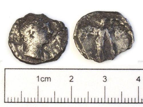 NCL-804105: Roman coin: denarius of Trajan
