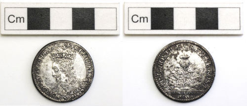 NCL-E2CC07: silver coin of charles 1