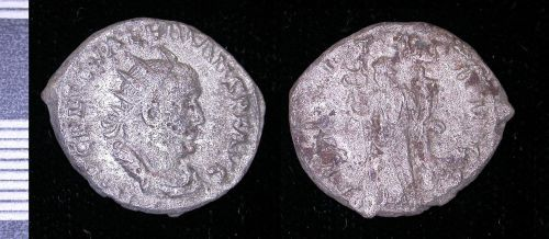 PUBLIC-243586: rome silver radiate of Valerian I