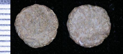 LEIC-517DC3: roman copper nummus of hse of constantine