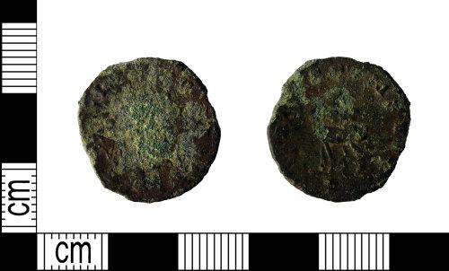 LEIC-73E0BA: Roman copper alloy radiate of Gallienus