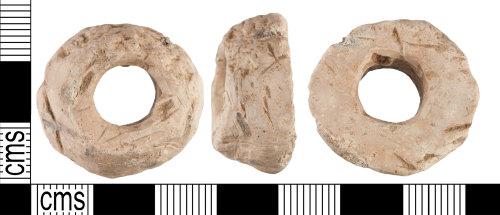 YORYM-8B5897: Medieval : spindle whorl