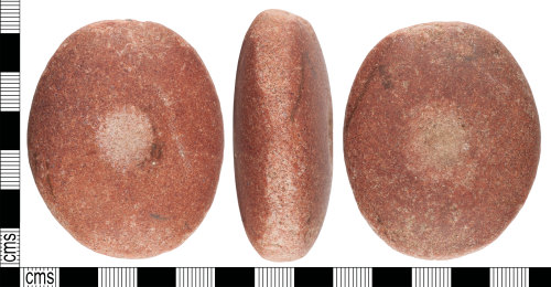 YORYM-6BBCE3: Mesolithic : perforated object
