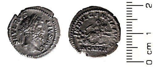 HESH-EE4B72: Roman Coin:denarius of Septimius Severus