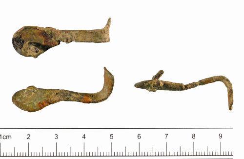 DUR-D1D158: Iron Age chain mail fastener