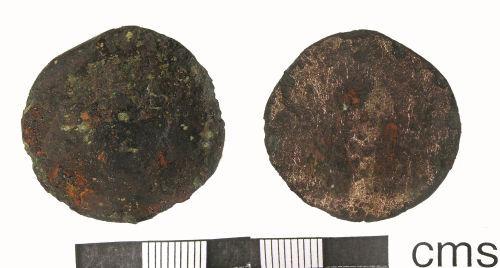LANCUM-E4F926: Roman sestertius (obverse and reverse)