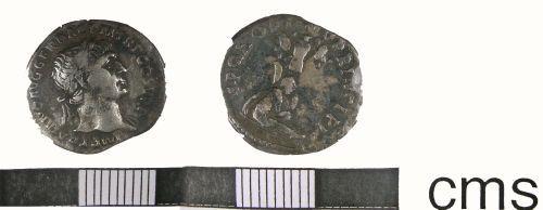 LANCUM-E5B3F4: Roman Denarius (obverse and reverse)