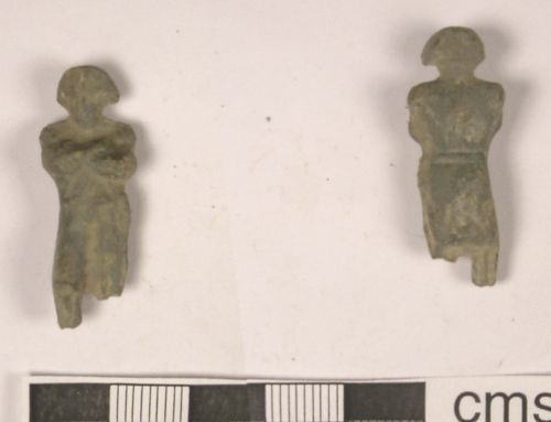 LANCUM-DC5C18: Post Medieval Lead Toy
