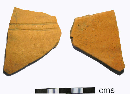 LANCUM-9B5265: Roman Decorated Vessel Body Sherd