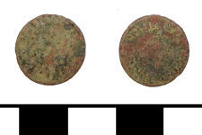 A resized image of Post Medieval trade token