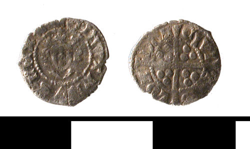 ESS-BC1026: ESS-BC1026 Medieval coin: farthing of Edward II