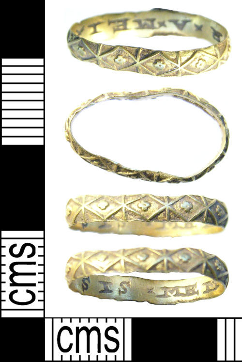 ESS-745A21: 2011 T529 Post Medieval finger ring