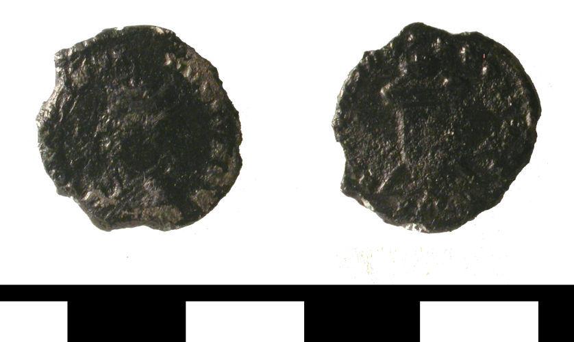 ESS-846982: ESS-846982 Roman coin: nummus of Constaantine II
