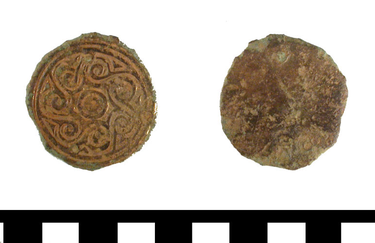 ESS-330CD8: ESS-330CD8 Early Medieval escutcheon