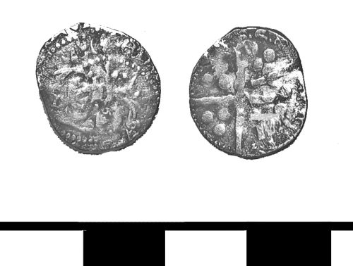 ESS-F15932: Medieval coin: penny of Edward IV