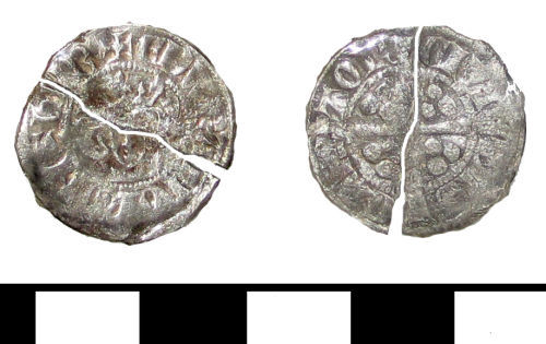 ESS-067953: ESS-067953 Medieval coin: penny of Edward I