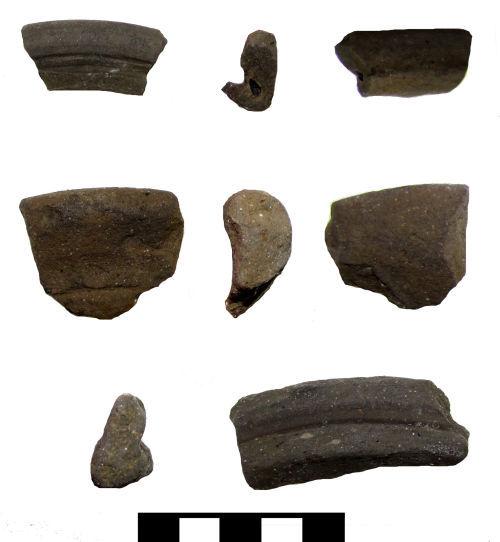 A resized image of Roman vessel sherds