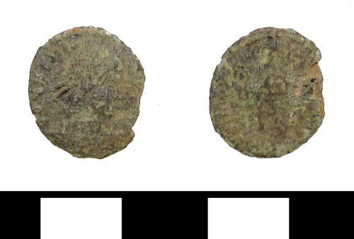ESS-551691: Roman coin: nummus of uncertain emperor