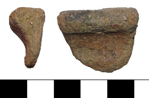 A resized image of ESS-6A9BA7 Bronze Age to Iron Age vessel sherd