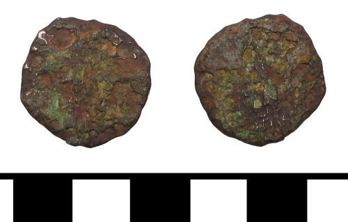 ESS-6ABB33: ESS-6ABB33 Roman coin: dupondius or as of uncertain emperor
