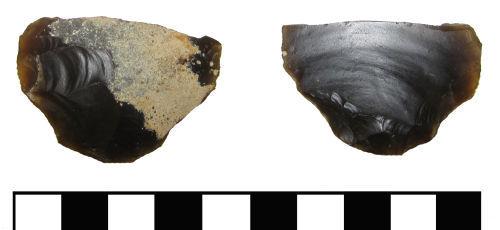ESS-C370E4: ESS-C370E4 Mesolithic to Neolithic scraper