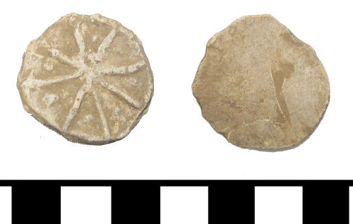 A resized image of ESS-F3E435 Medieval to post medieval lead token
