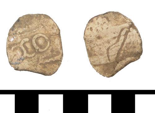 ESS-F3E794: ESS-F3E794 Post medieval lead token