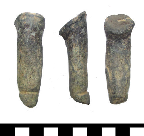 A resized image of ESS-F42134 Medieval vessel leg