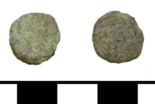PUBLIC-C28802: Roman coin: nummus of the House of Constantine