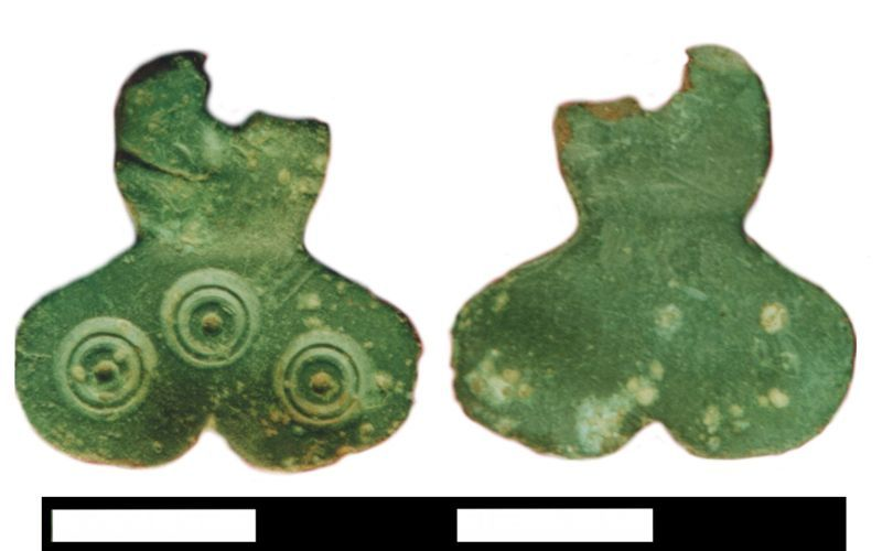 KENT4425: KENT4425: Early Medieval Small Long Brooch, Incomplete