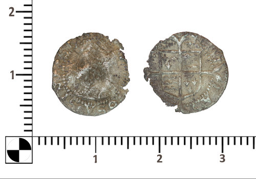 PUBLIC-4DA635: PUBLIC-4DA635-silver penny of Elizabeth I