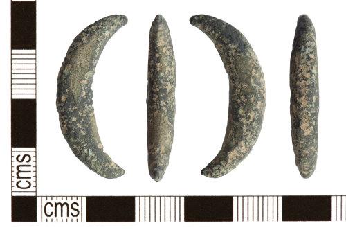 PUBLIC-609F88: PUBLIC-609F88-Copper alloy iron age brooch