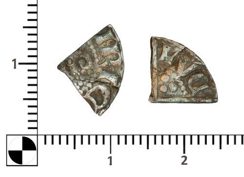 PUBLIC-5052FE: PUBLIC-5052FE-silver cut quarter of Henry III