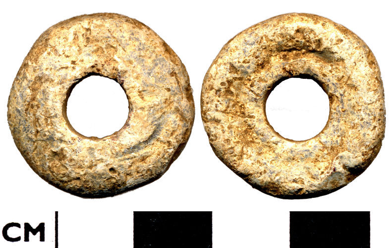 DOR-002515: Roman to Medieval lead weight