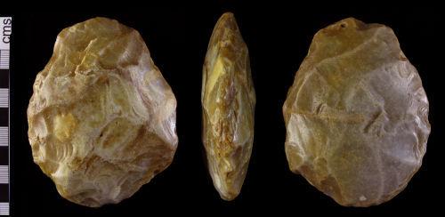 HAMP-E00C26: Lower Palaeolithic handaxe