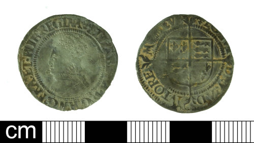 DEV-5693AC: Post medieval coin: groat of Elizabeth I