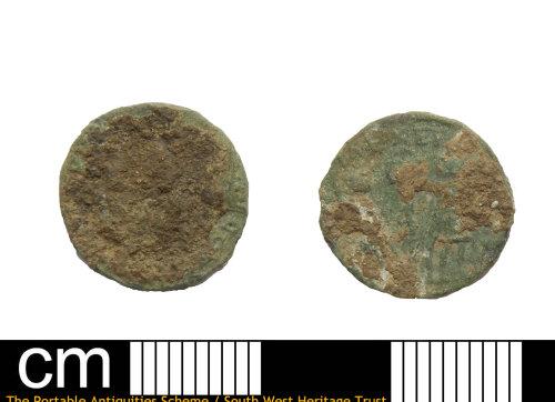DEV-BDE587: Roman coin: nummus of House of Constantine