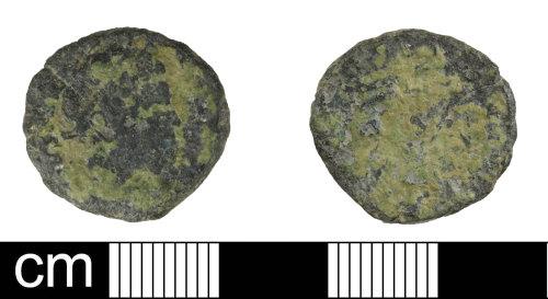 DEV-1B69A1: Roman coin: nummus of Antoninus Pius