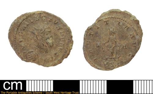 DEV-42DA94: Roman coin: radiate of Gallienus