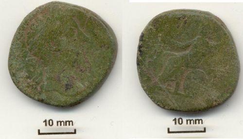 NLM-6C6B60: Sestertius of Antoninus Pius