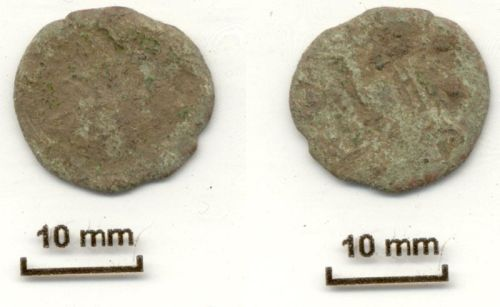 NLM-7F84F7: probably a nummus, unknown ruler